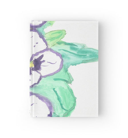 Purple Pansy Power Journal