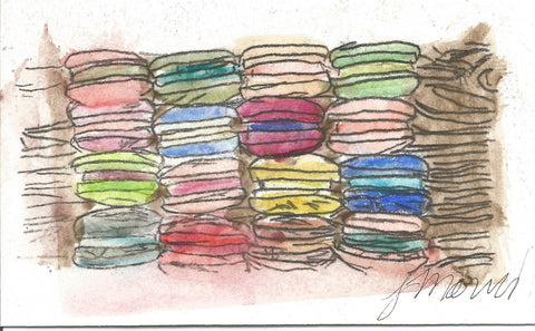A Feast of Macarons