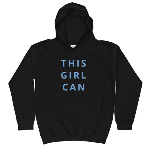 This Girl Can Kids Hoodie