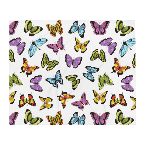 Flutterby Throw Blanket