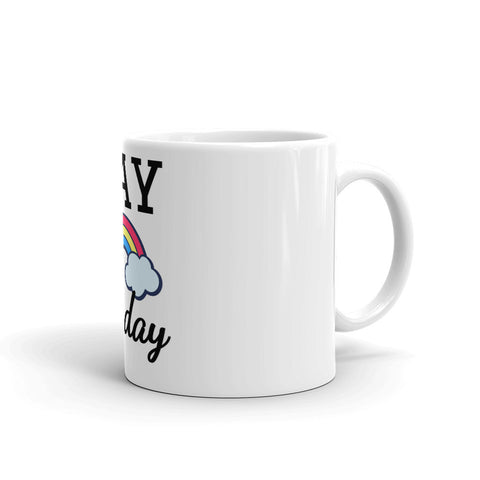 Gay All Day Mug