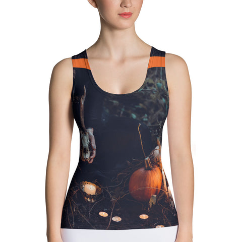 Haunted Cut & Sew Tank Top