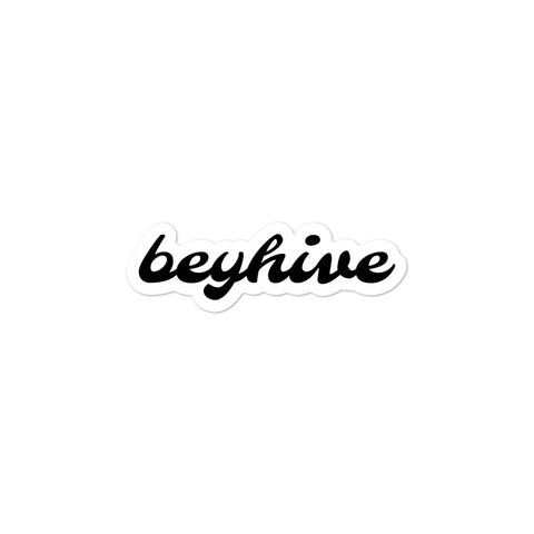 Beyhive bubble-free stickers