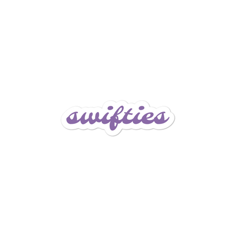 swifties bubble-free stickers