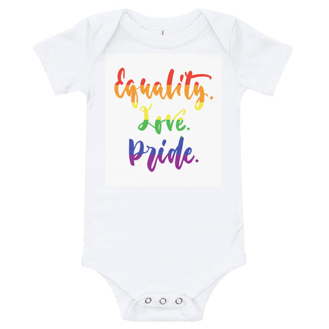 Equality Love Pride Infant Bodysuit