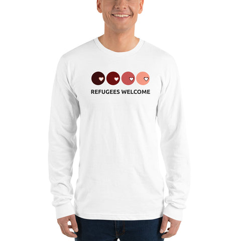 Refugees long sleeve t-shirt
