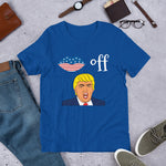 Kiss Off Trump Short-Sleeve Unisex T-Shirt