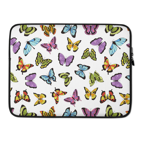Flutterby Laptop Sleeve - 15 in