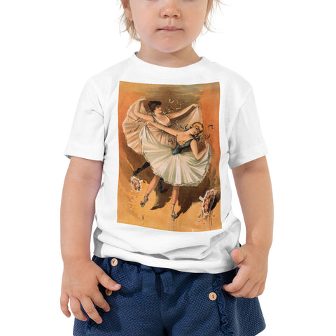Vintage Dancer Toddler Short Sleeve Tee