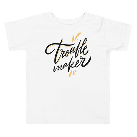Trouble Maker Toddler Short Sleeve Tee