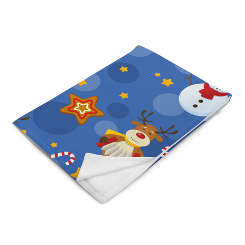 Rudolph the Red-Nosed Reindeer and Friends Throw Blanket