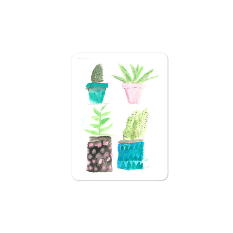 Succulentus Bellus Bubble-free stickers