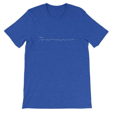 Be Extraordinary Morse Code Short-Sleeve Unisex T-Shirt