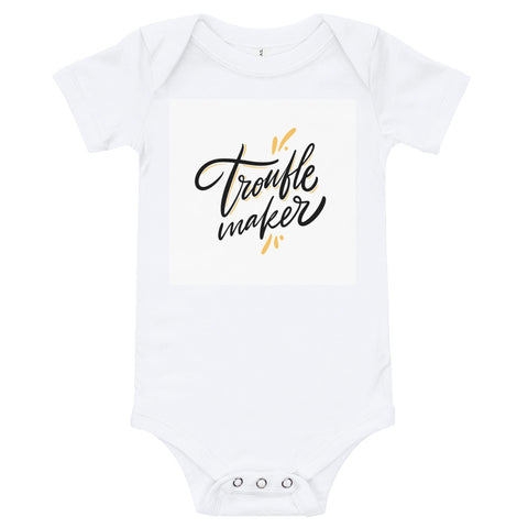 Trouble Maker Infant Bodysuit