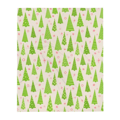 O Christmas Tree Throw Blanket