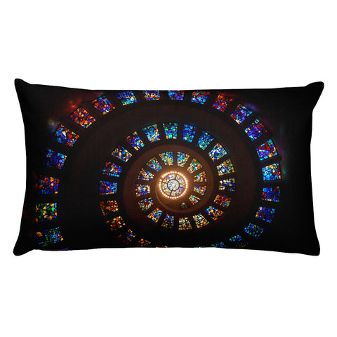 Stained Glass Premium Pillow