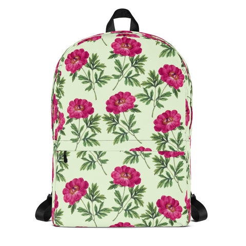 Pink Flowers Backpack