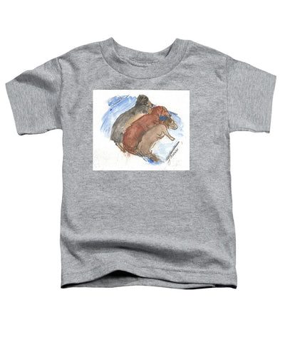 Napping Weenies - Toddler T-Shirt