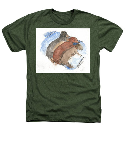 Napping Weenies - Heathers T-Shirt
