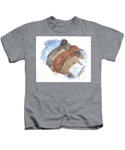 Napping Weenies - Kids T-Shirt