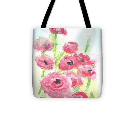 Pink Poppy Dream - Tote Bag
