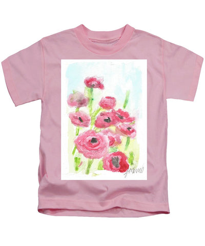 Pink Poppy Dream - Kids T-Shirt