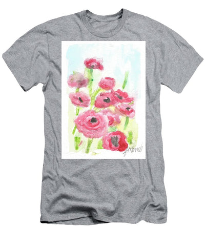 Pink Poppy Dream - Men's T-Shirt (Athletic Fit)