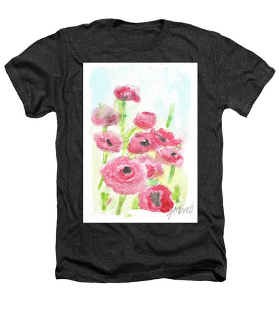 Pink Poppy Dream - Heathers T-Shirt