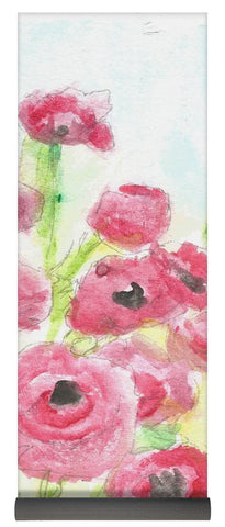 Pink Poppy Dream - Yoga Mat