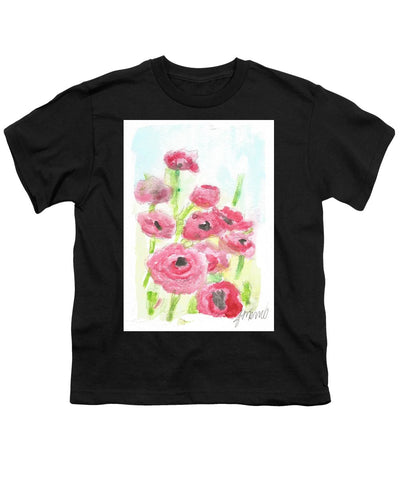 Pink Poppy Dream - Youth T-Shirt