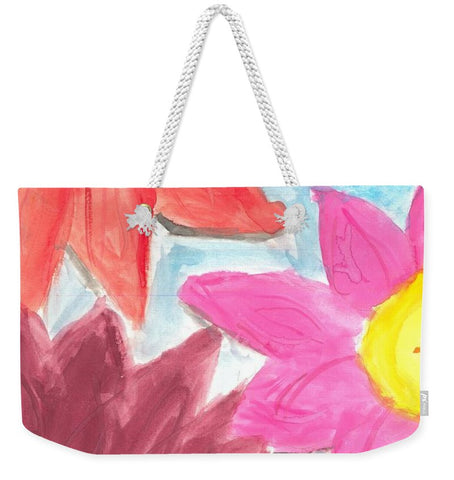 Sea Of Flowers - Weekender Tote Bag
