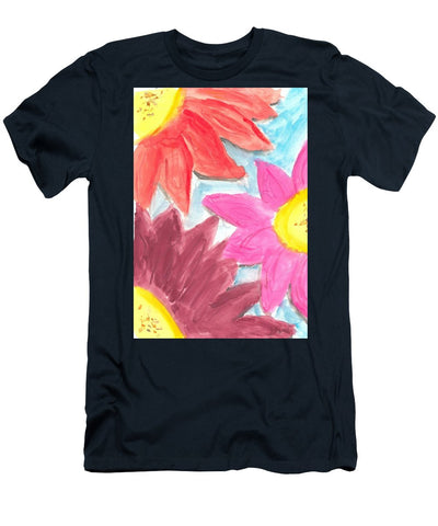 Sea Of Flowers - Men's T-Shirt (Athletic Fit)