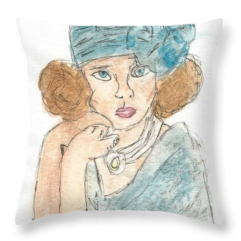 Society Queen - Throw Pillow