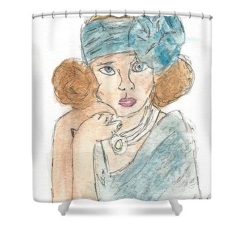 Society Queen - Shower Curtain