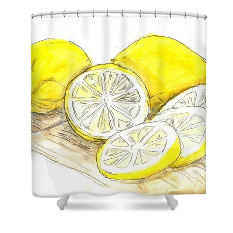 Tart Cutting Board - Shower Curtain