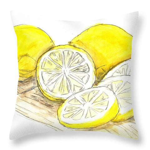 Tart Cutting Board - Throw Pillow