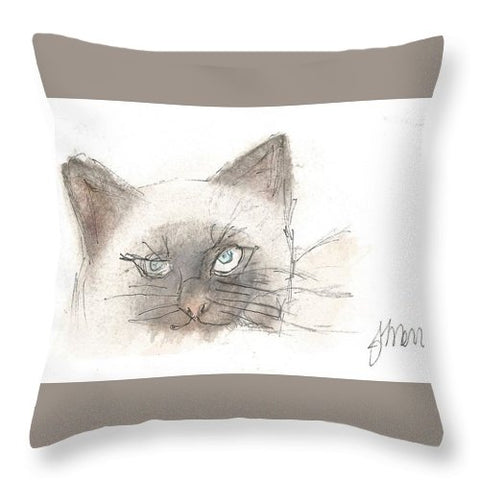 Unimpressed - Throw Pillow