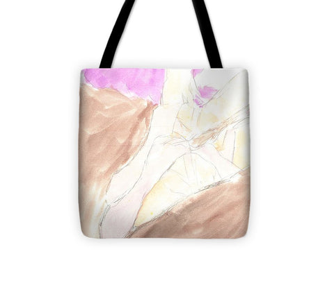 Waiting For Her Turns - Tote Bag