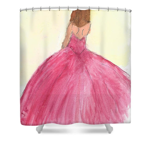 Waiting - Shower Curtain