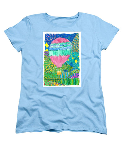 Way Up In The Clouds - Women's T-Shirt (Standard Fit)