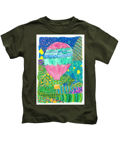 Way Up In The Clouds - Kids T-Shirt