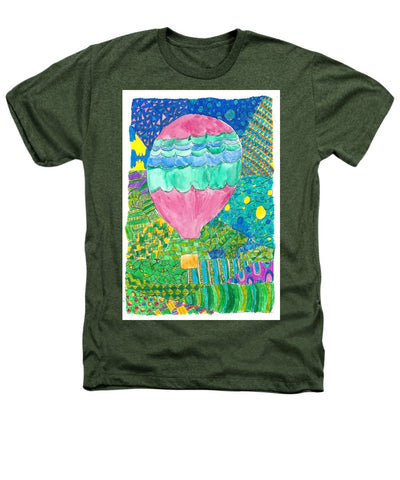 Way Up In The Clouds - Heathers T-Shirt
