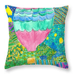Way Up In The Clouds - Throw Pillow