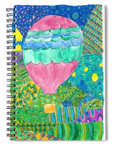 Way Up In The Clouds - Spiral Notebook