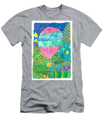 Way Up In The Clouds - Men's T-Shirt (Athletic Fit)