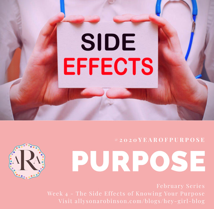 #2020YearOfPurpose Purpose Week 4: The Effects of Knowing Your Purpose