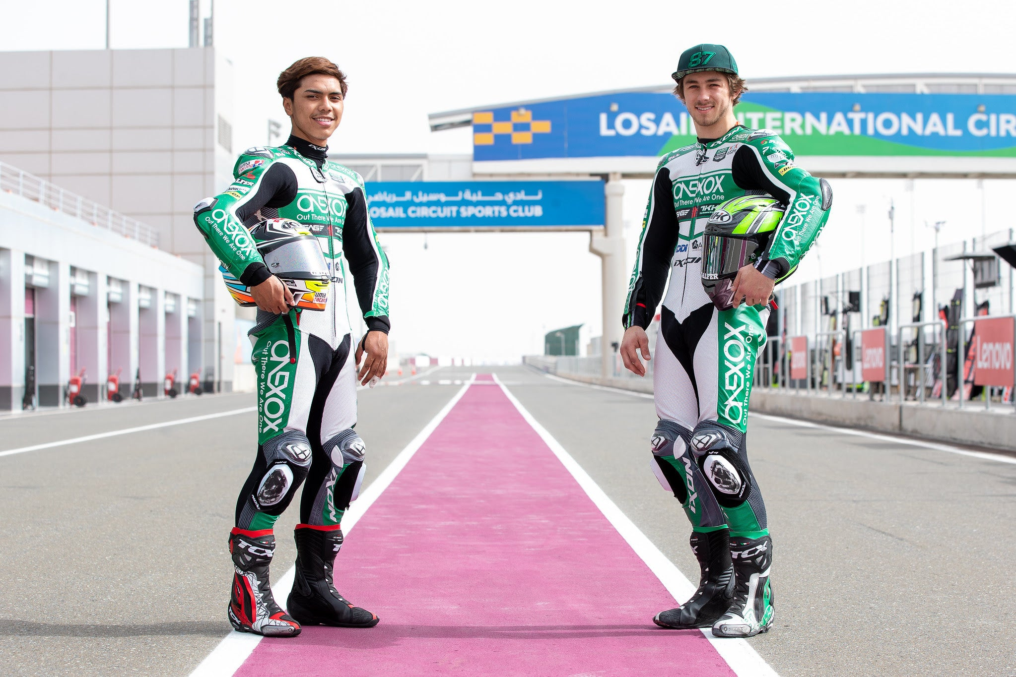 Gardner & Kasma Daniel ready for the return of the Moto2 World Championship