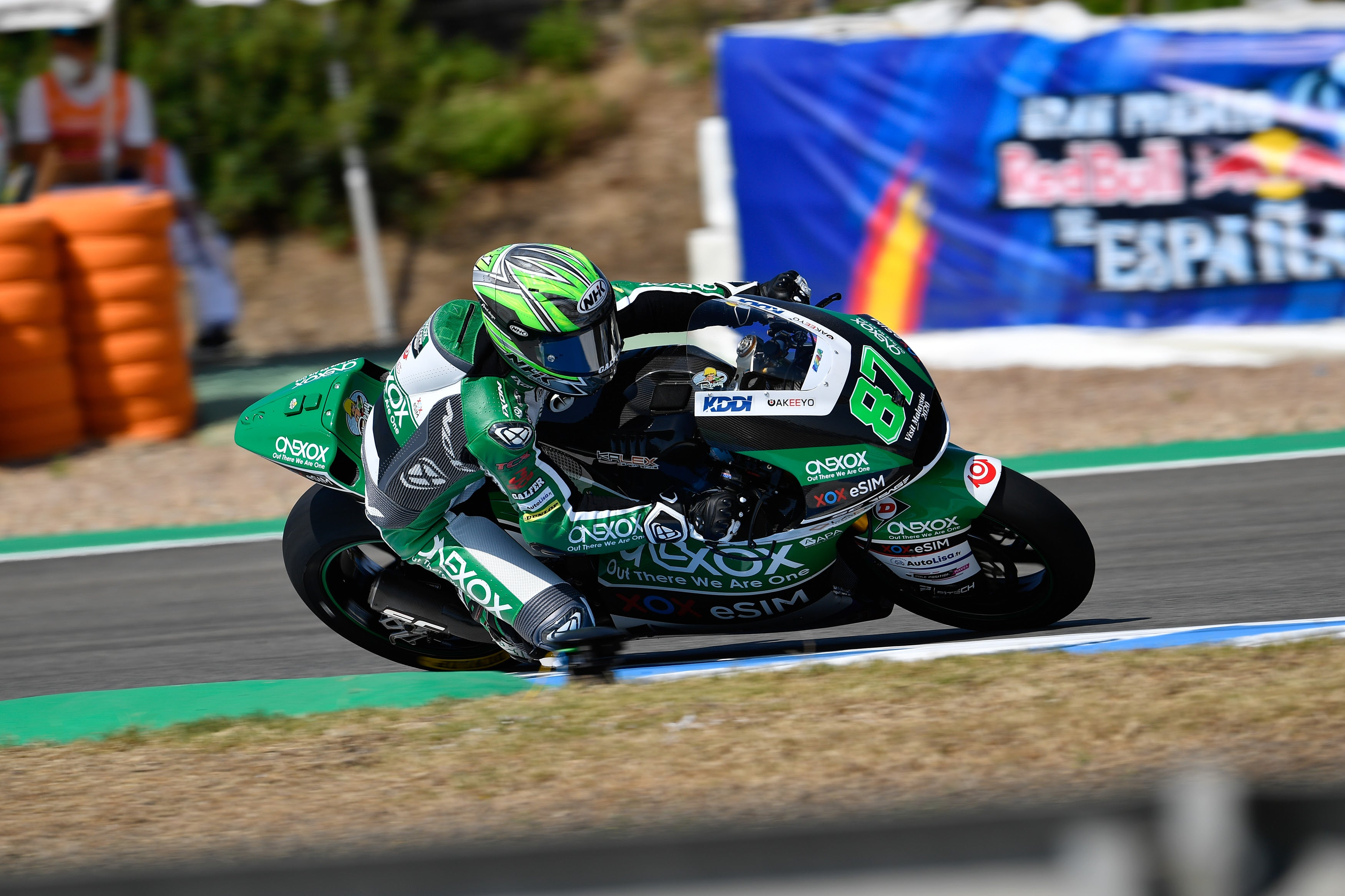 Difficult qualifying session for the ONEXOX TKKR SAG TEAM in Jerez due to the high temperatures