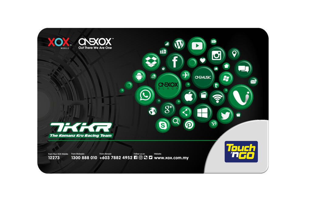 KAD TOUCH N GO ONEXOX LIMITED EDITION