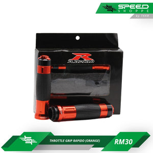 Throttle Grip Rapido (Orange)